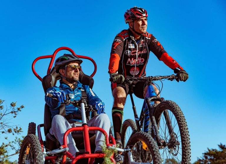 Quadrix sports outing for people with reduced mobility