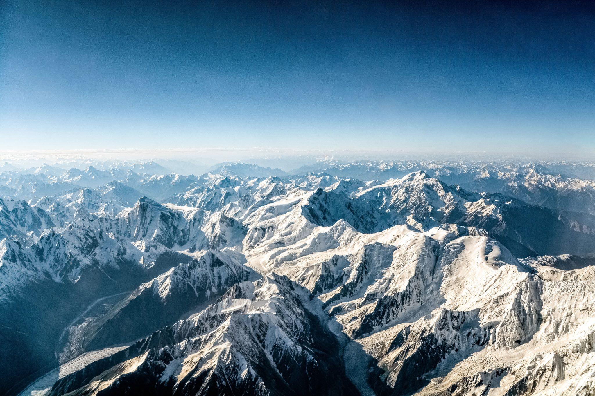 Das Himalaya-Gebirge in Quadrix