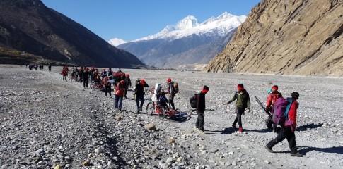Trekking in Nepal und Europa Quadrix