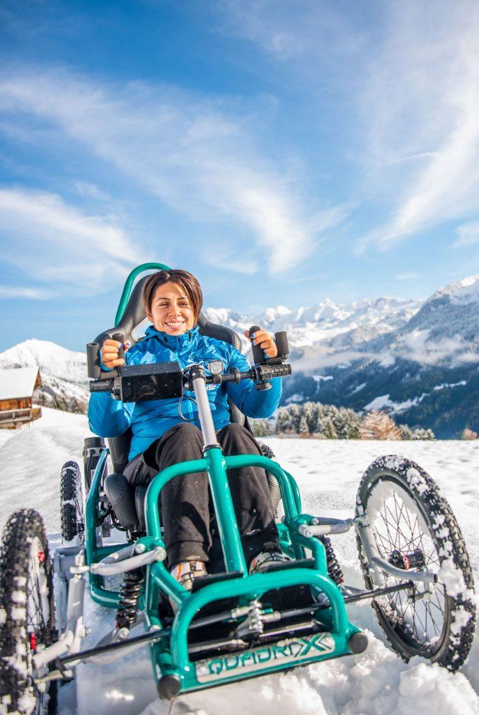 Quadrix All Terrain Chair Experience