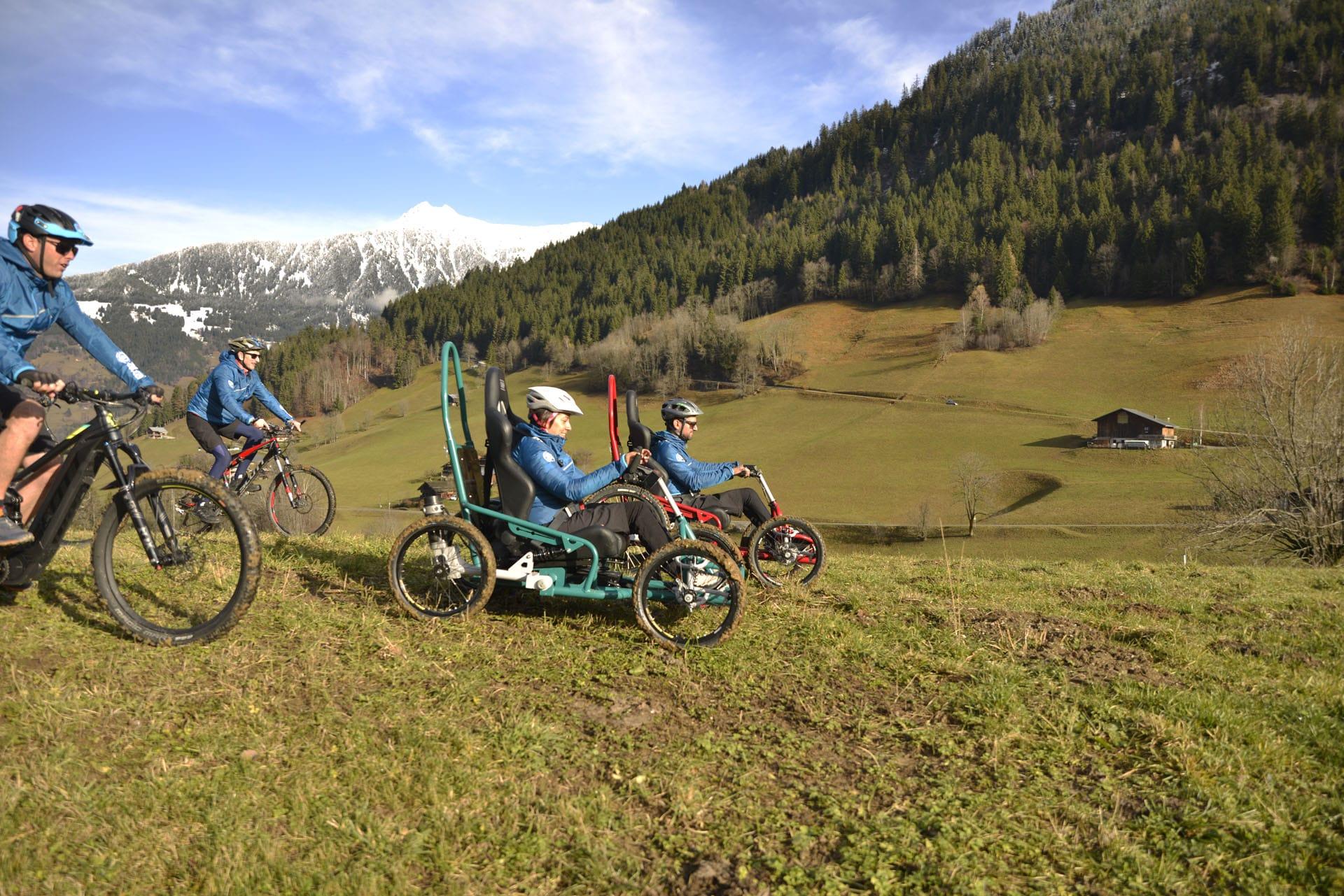 Quadrix the all-terrain chair