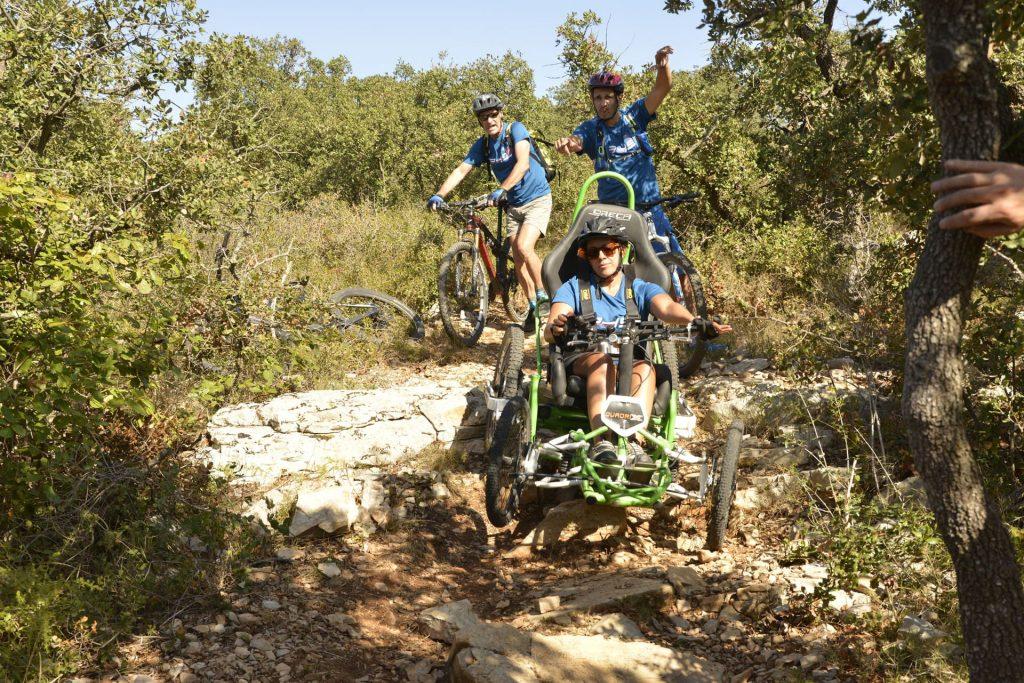 Expérience sportive pour personne à mobilité réduite