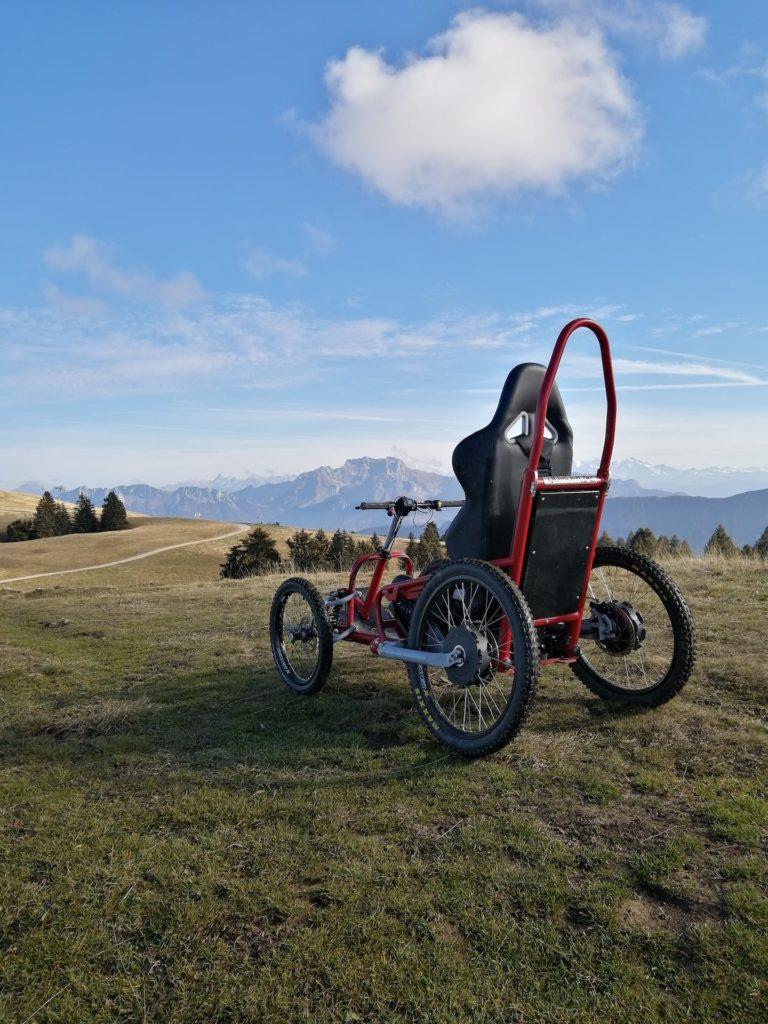 sortie sportive pour personne à mobilité réduite Quadrix