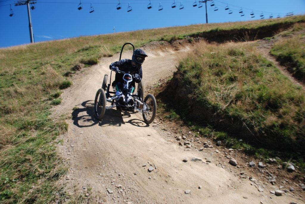 Quadrix all-terrain wheelchair made in France