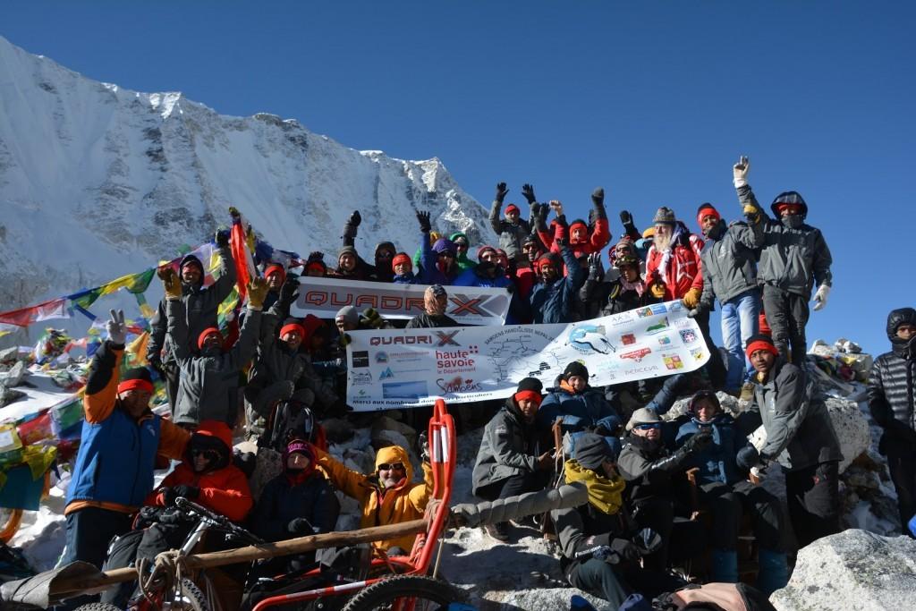 Trek au népal avec Quadrix