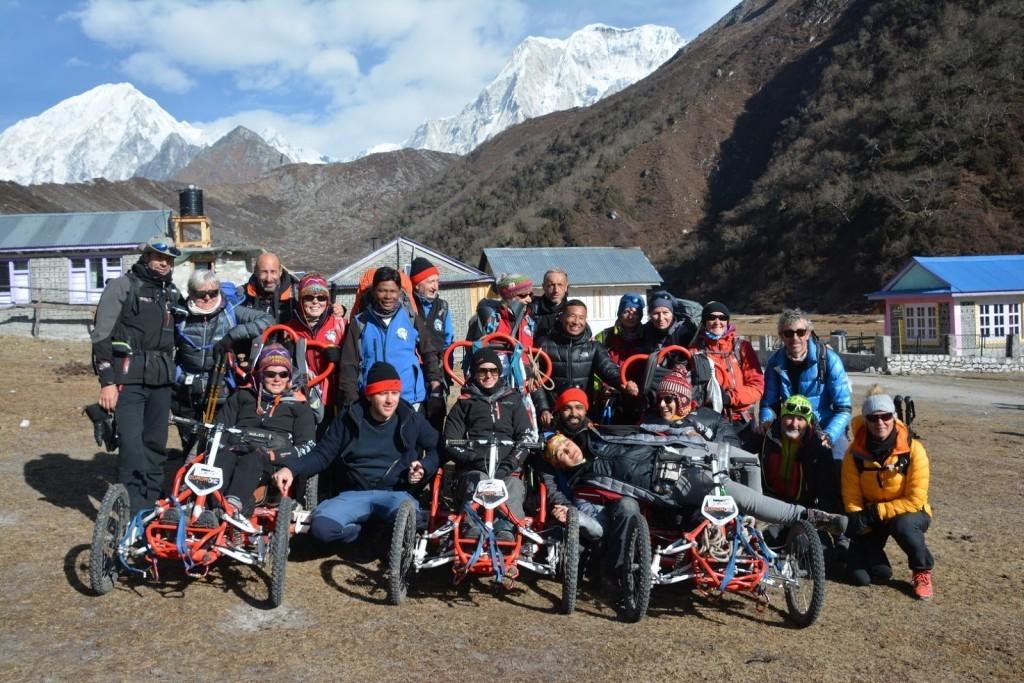 Quadrix au népal en 2018